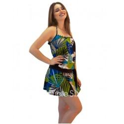 Κοντο Φορεμα  Βαμβακερο  Spandex