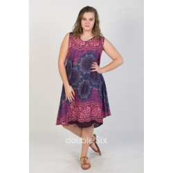 Βαμβακερό Φόρεμα μακρύ με τιράντες