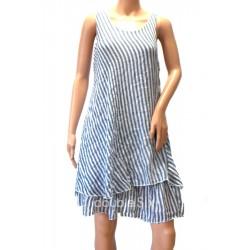 Φόρεμα κοντό βαμβακερό με τιράντες