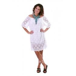 Φόρεμα κοντό με μανίκια