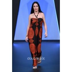 Μακρύ Φόρεμα Ζέρσεϋ Στράπλες Μεγάλο