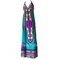 Μακρυ Φόρεμα με Τιραντες Μεγαλο Μεγεθος