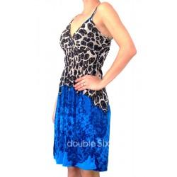 κοντό φόρεμα ζερσευ  με τιράντα