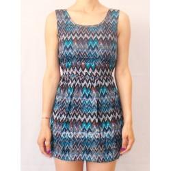 Κοντό Φόρεμα Βαμβακερό