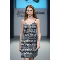 Κοντό Φόρεμα Βαμβακερό με τιράντες